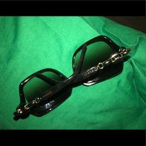 Gucci square frame tortoise shell sunglasses